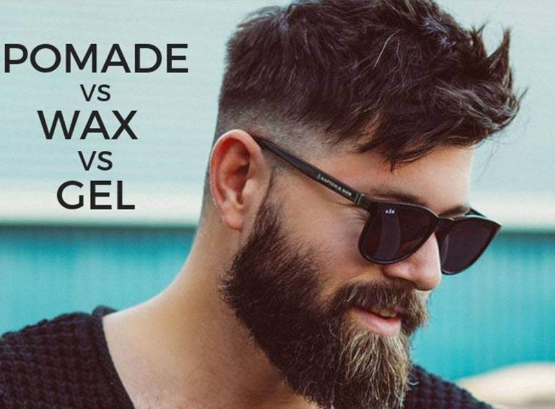 Pomade vs wax vs gel
